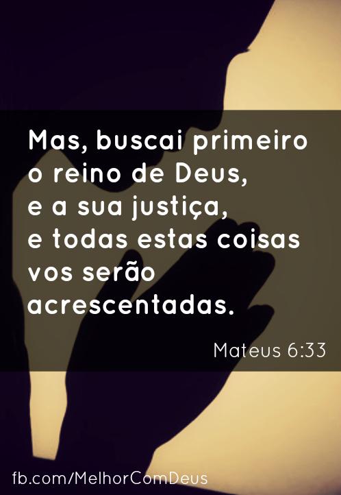 Mateus 6:33