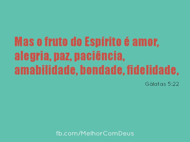 Gálatas 5:22
