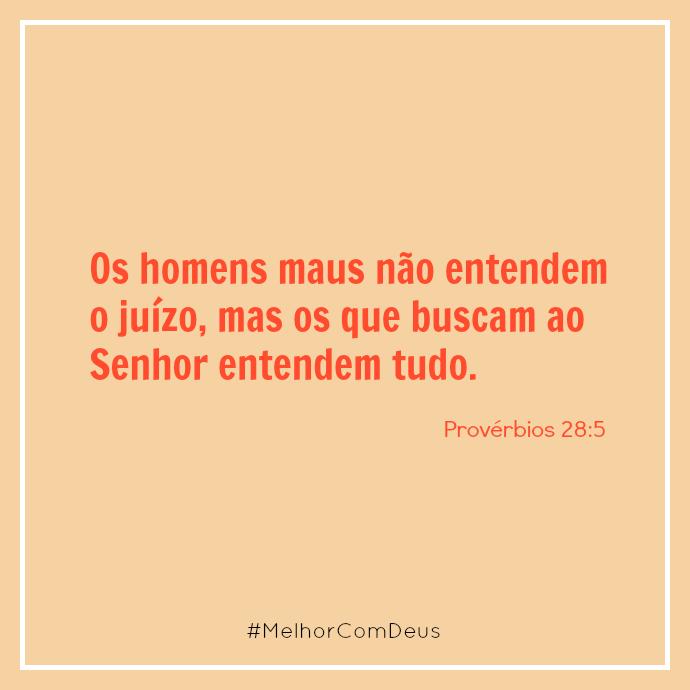 Provérbios 28:5