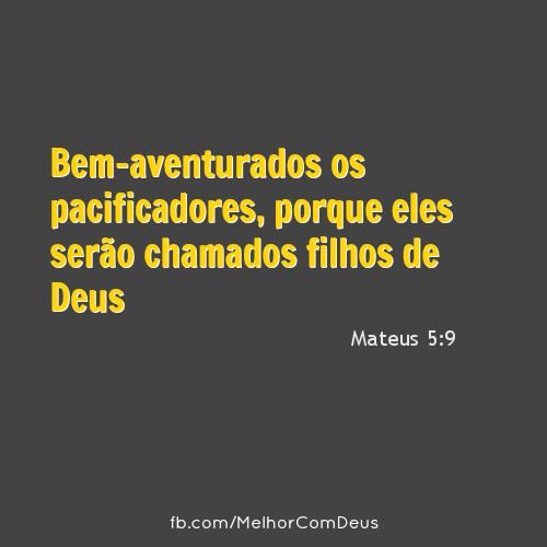 Mateus 5:9