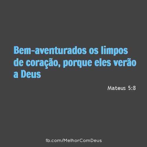 Mateus 5:8