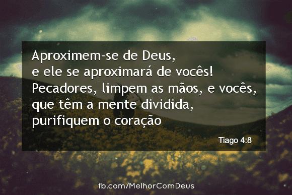 Tiago 4:8