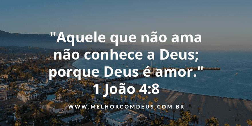 1 João 4:8