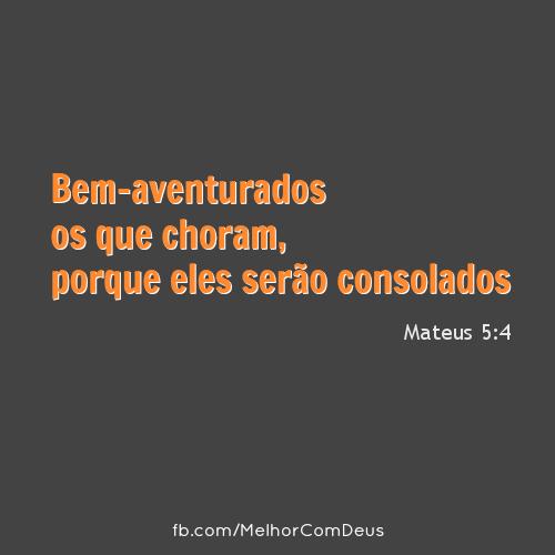 Mateus 5:4