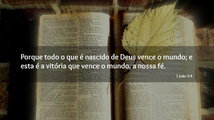 Bíblia 1 João 5:4