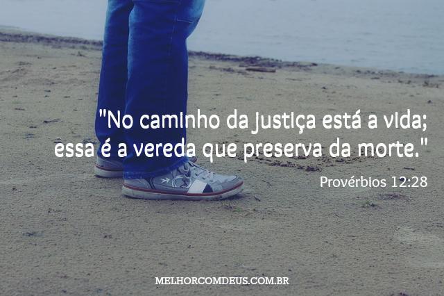 Provérbios 12:28