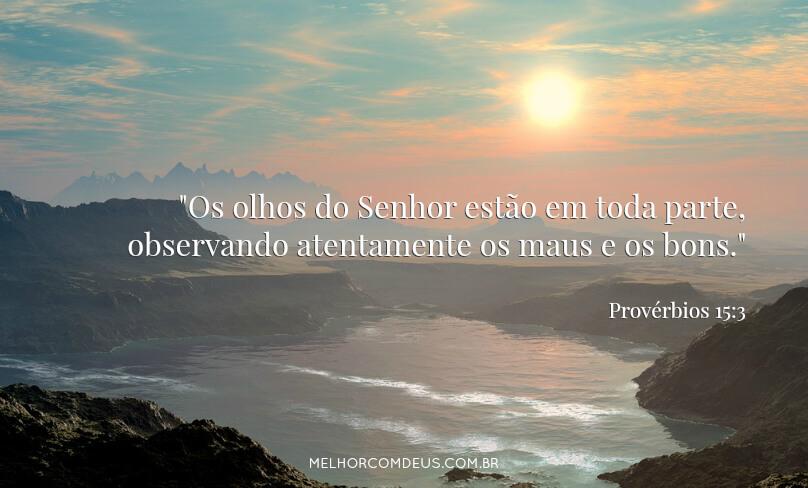 Provérbios 15:3