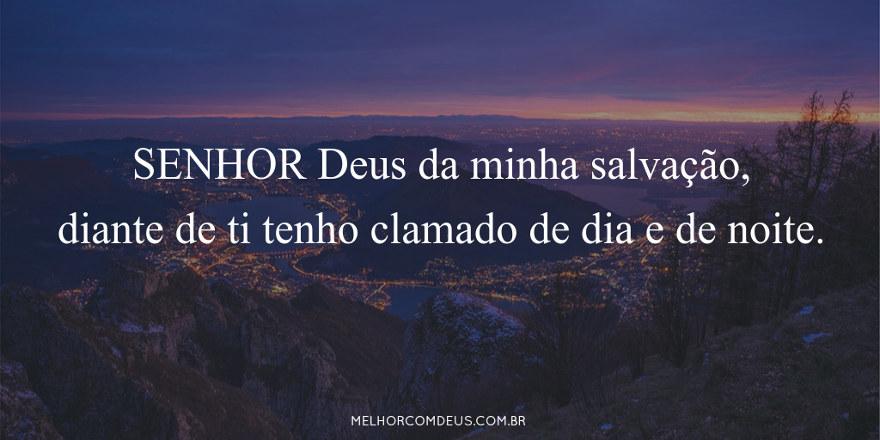 Versículos - Salmos 88:1