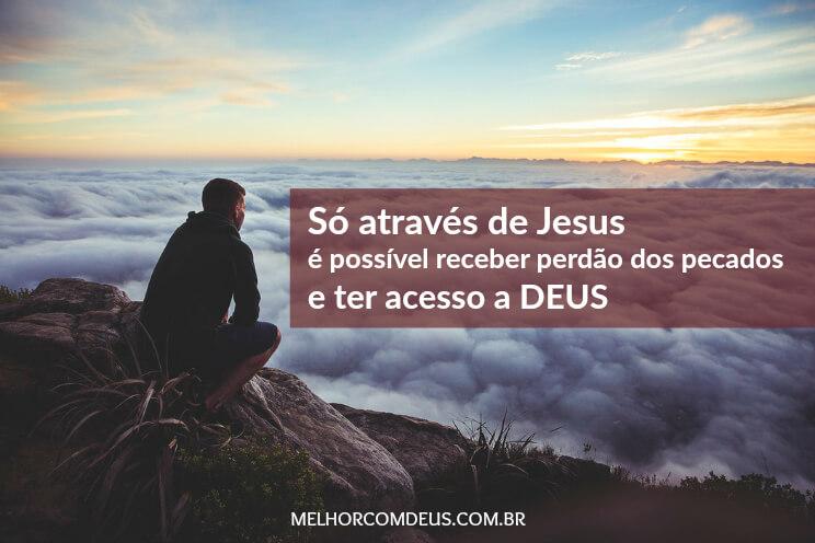 Através de Jesus
