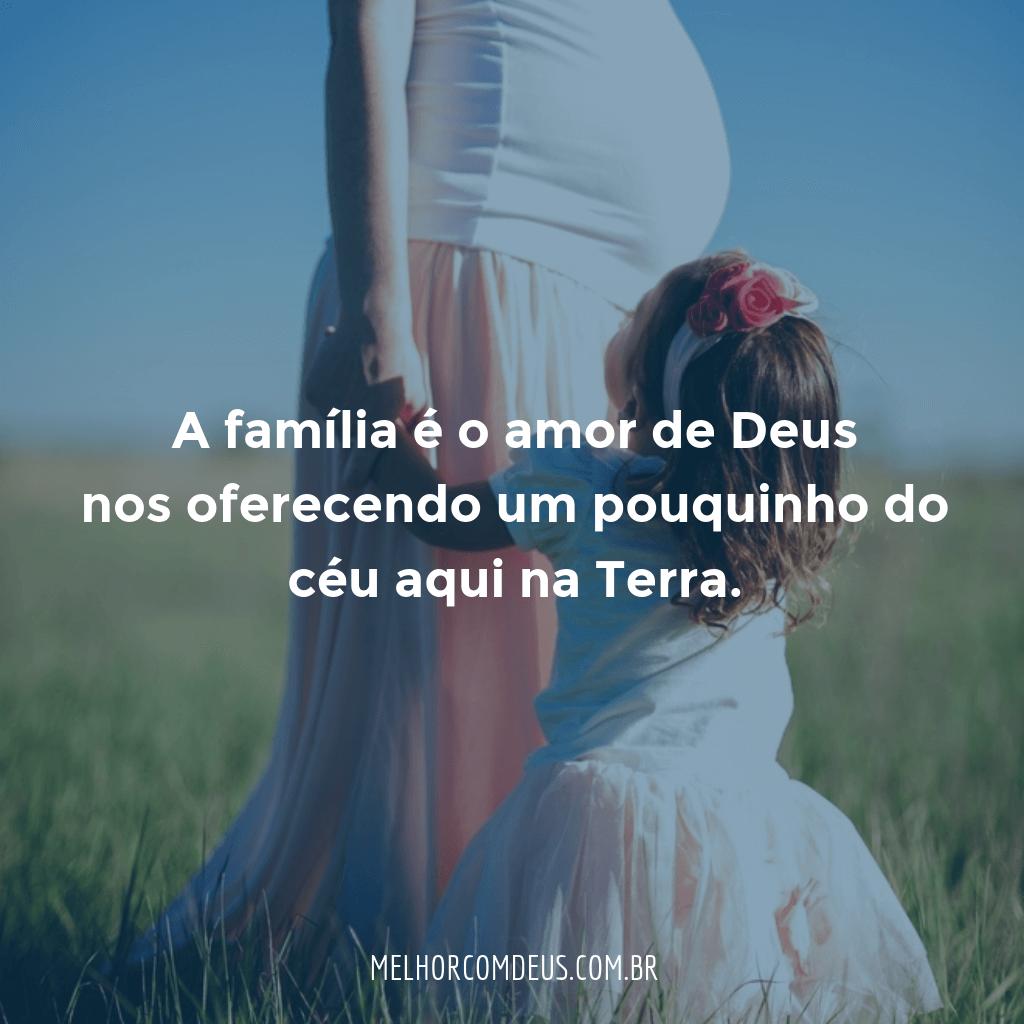 A Família e o Amor de Deus