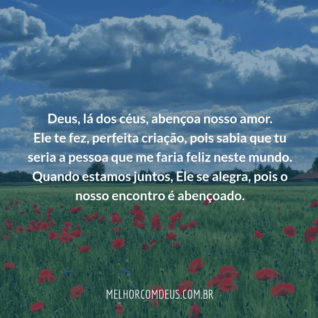Amor abençoado por Deus