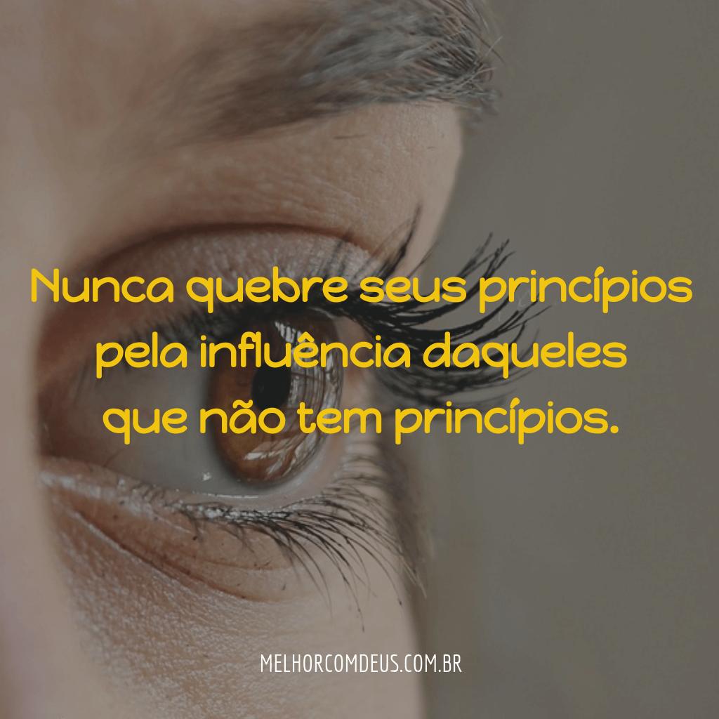 Nunca quebre seus princípios - João Chinelato Filho