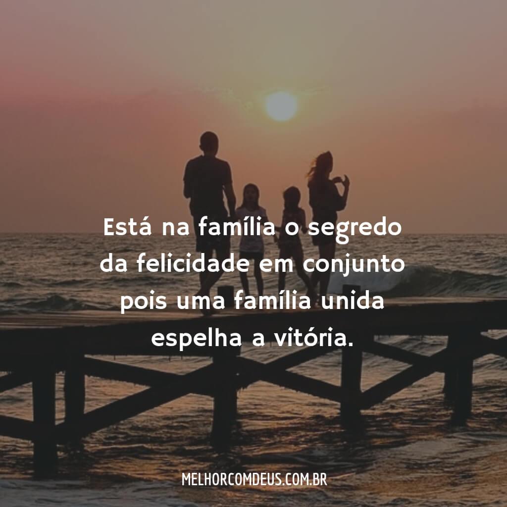 Felicidade e Família