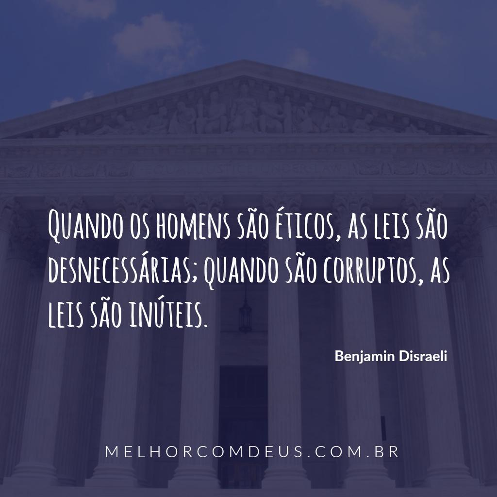 Frases - Benjamin Disraeli