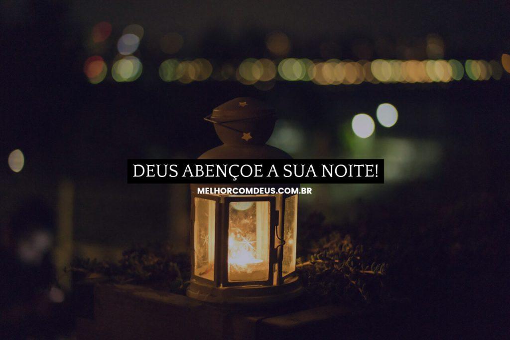 Deus abençoe a sua noite