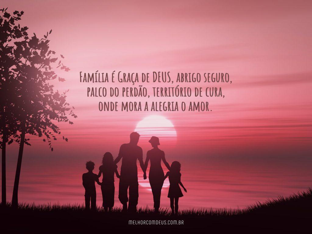 Família é graça de Deus