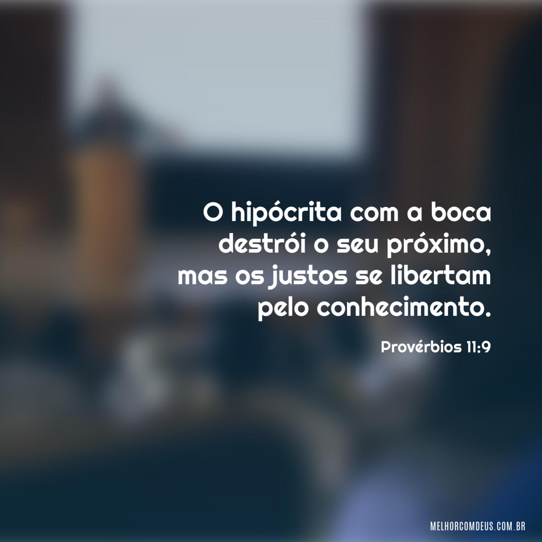 Provérbios 11:9