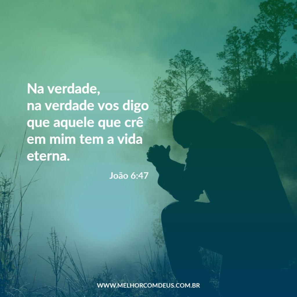 Versículo - João 6:47